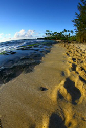 &quot;Footprints and Blue Skies&quot;. Photo taken at Lanikai Beach... by Mathew Cook 